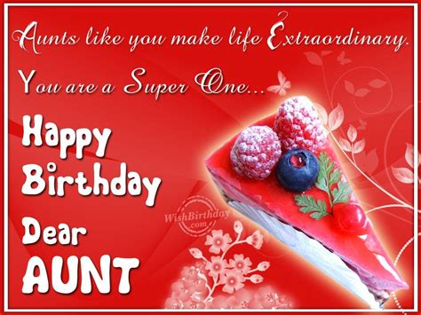 Quotes For Aunts Birthday Special Aunt Birthday Quotes Quotesgram