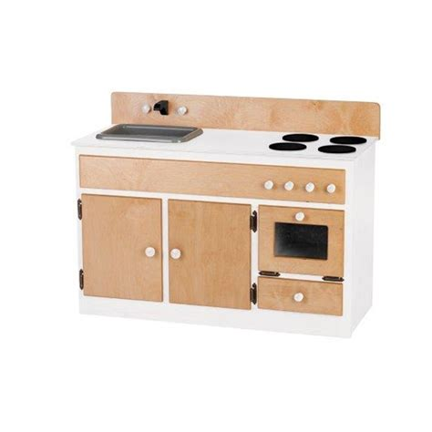 sink and stove combo children s wood play kitchen sink stove combo
