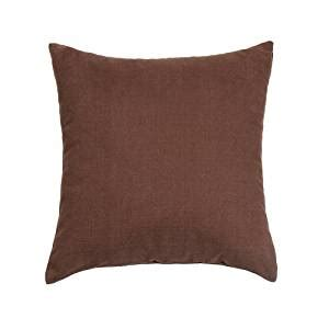 dark brown couch pillows com 16 quot x 16 quot solid dark brown throw pillow cover