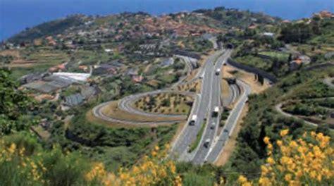 autostrada fiori autostrada dei fiori i cantieri settimana