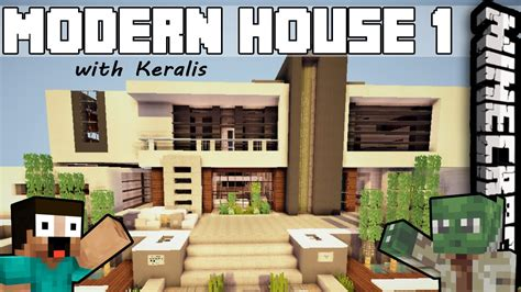 modern house 12 minecraft inspiration youtube minecraft inspiration series with keralis modern house 1