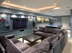 Finished Basement Decorating Ideas 22 Finished Basement Contemporary Design Ideas Page 4 Of 4
