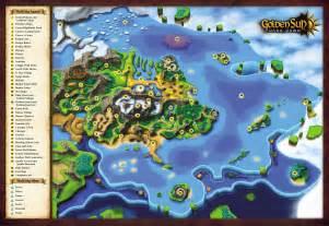 Golden Sun World Map by Golden Sun Adept S Refuge Golden Sun Dark Dawn