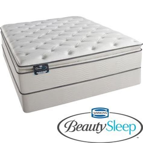 Best Deals On Mattress by Simmons Beautysleep Titus Pillow Top Size Mattress Set