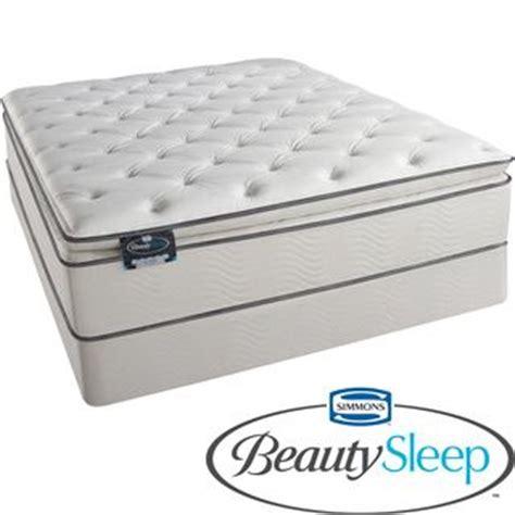 Deals On Mattresses by Simmons Beautysleep Titus Pillow Top Size Mattress Set