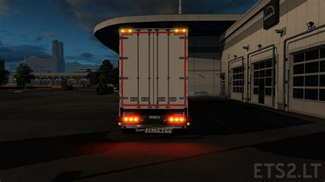 limetec trailer light corrected ets 2 mods