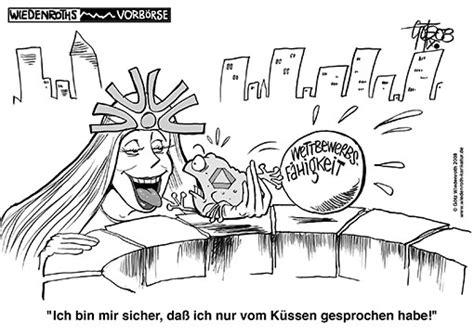 fusion dresdner bank commerzbank karikatur satire politik wirtschaft zeichnung