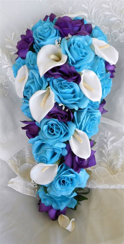 17 best ideas about blue wedding flowers on pinterest