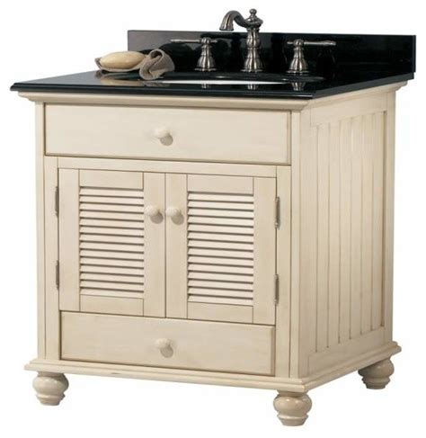 Premium Bathroom Vanities by Foremost Cottage 24 Inch Vanity Premium Antique White