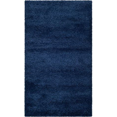 safavieh milan shag navy 5 ft 1 in x 8 ft area rug