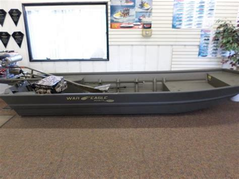 war eagle boats in michigan war eagle 542fld boats for sale in michigan