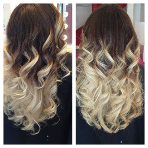 light brown and platinum blonde ombre hair dark brown to light blonde ombre hair made by pizofcake