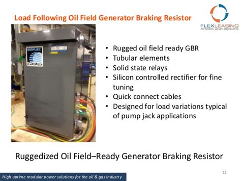 generator braking resistor flex leasing power and service introduction presentation 2015 12 09