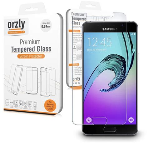Samsung Galaxy A5 Tempered Glass Screen Protector 1 the best samsung galaxy a5 screen protectors in 2017 reviews