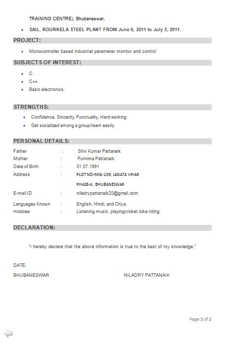 Sle Resume For Computer Teachers Freshers sle resume for freshers b tech free 28 images sle
