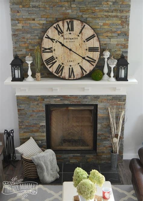 home decor fireplace 25 best rustic mantle decor ideas on fall