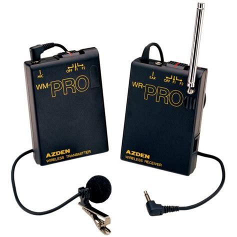 Azden Wlx Pro Vhf Wireless Lavalier Microphone System Best Sellers Wireless Microphones Azden Wlx Pro Lavaliere