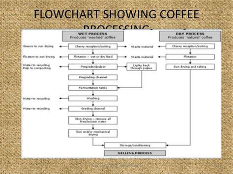 coffee flowchart coffee