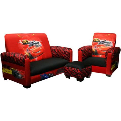 toddler sofa chair and ottoman set disney cars drift toddler sofa chair and ottoman set