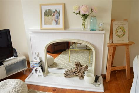 Mantle Without Fireplace by Five Kinds Of Happy How To Style A Mantel Fireplace