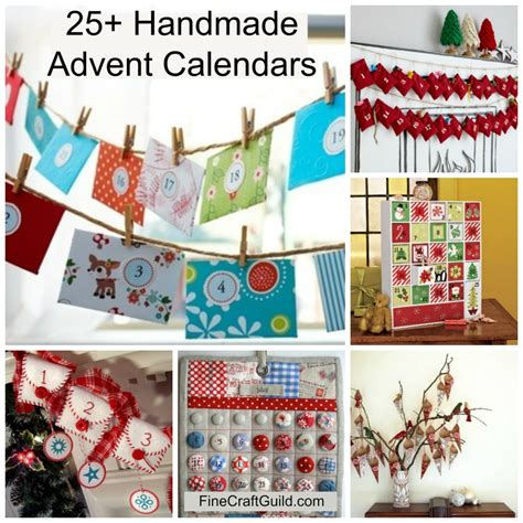 Handmade Advent Calendars - advent calendars to make your own calendar template 2016