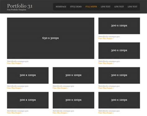 os templates portfolio 7 portfolio templates os templates