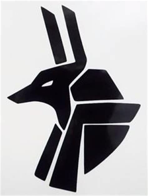 egyptian anubis god symbol car window vinyl decal sticker