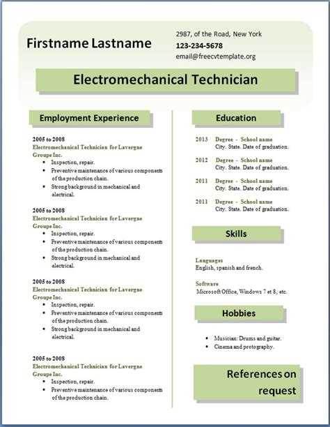 cv format word 2015 free download new cv format download curriculum vitae sles pdf