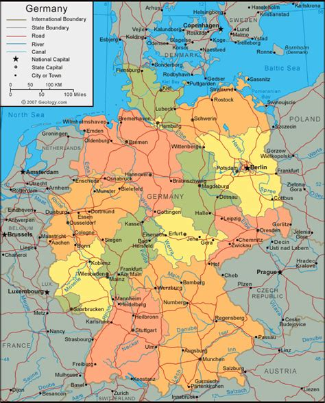 Cities In Germany by Koln Map And Koln Satellite Image