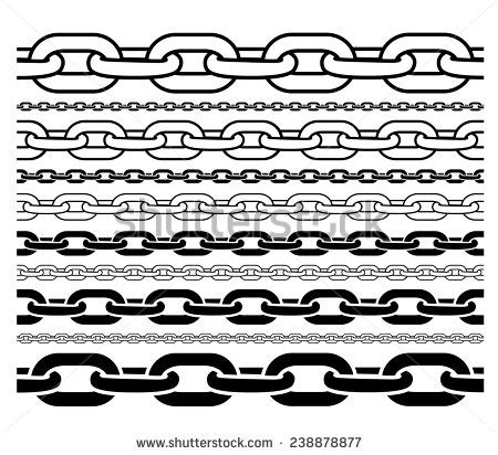 Bike Chain Outline by Chain Stock Photos Images Pictures