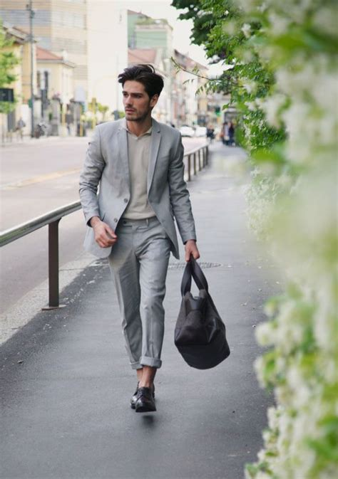 Fashion Celana Ngatung the look moda masculina fashion grey suits suits and menswear
