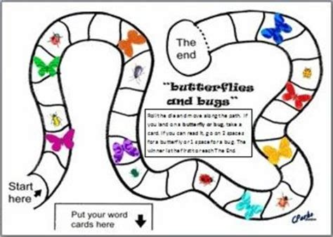 printable board games for kindergarten tons of printable board games of various theme and levels