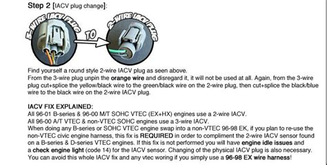 3 wire iacv to 2 wire iacv honda tech