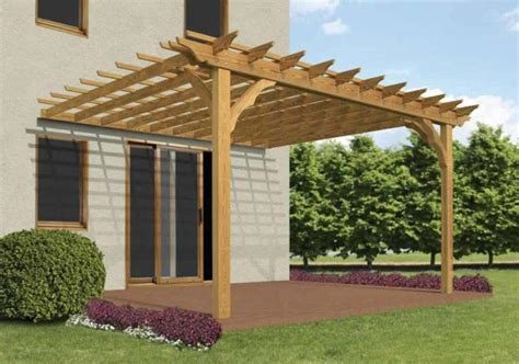 attached pergola designs with roof attached pergola