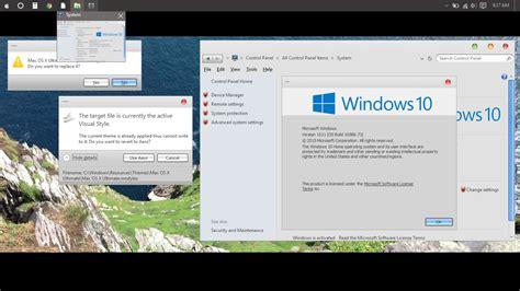 theme mac os x for windows 10 mac os x theme f 252 r windows 10 themes windows