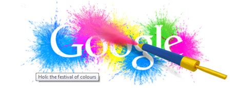 doodle india india celebrates holi with colourful doodle muchtech
