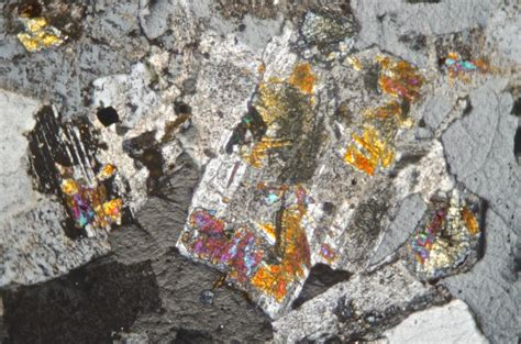 plagioclase in thin section geological excursion to hedgehope hill