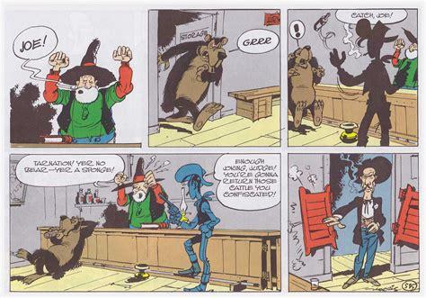 The Judge Lucky Luke slings arrows