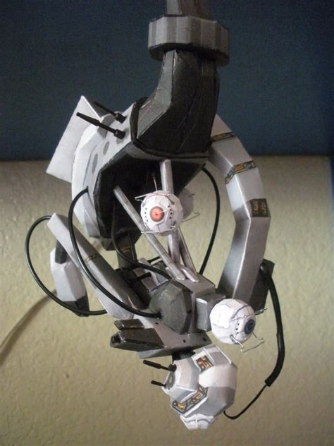Papercraft Portal - glados papercraft 1 by demonba55player on deviantart