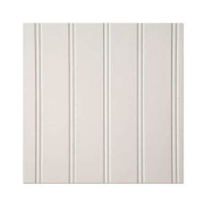 paneling home depot eucatile 3 16 in x 32 in x 48 in white true bead