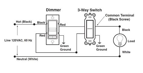 low voltage single pole dimmer switch wiring diagram low