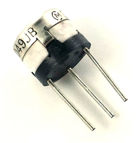 variable resistor 100k ohm 100k ohm trimpot variable resistor murata pot3321p 1 104 west florida components