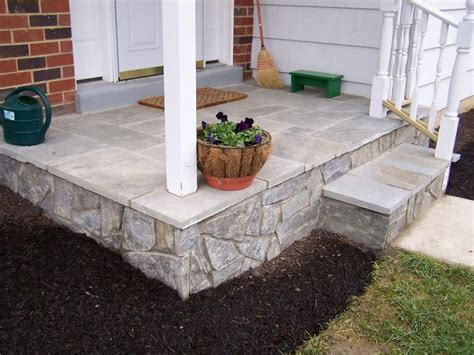 Covering A Concrete Porch flagstone cover up the concrete on our front porch home is where your is