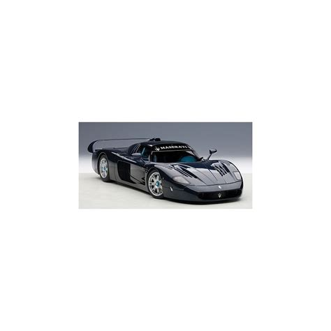 maserati road maserati mc12 road car metallic blue passion diecast