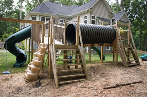 homemade swing sets a backyard playdate paradise in tennesee my great