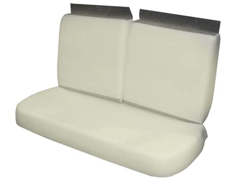 foam for bench seat 1966 1970 chevelle front bench seat foam set
