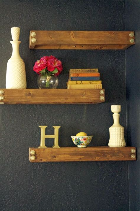 decorating floating shelves 20 neat floating shelf decorating ideas