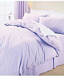 Lilac Duvet Cover Sets Plain Dyed Double Duvet Set Lilac Bedding Review