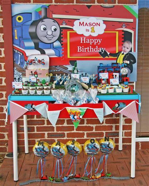 printable thomas the train party decorations kara s party ideas thomas the train birthday party via