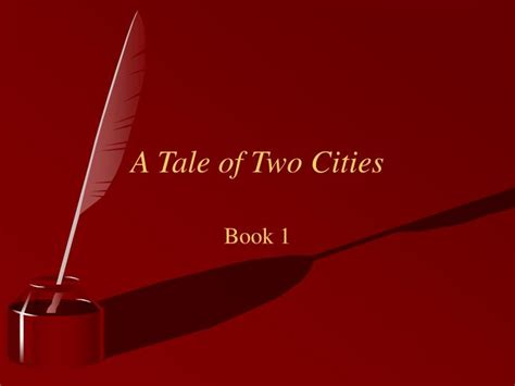 a tale of two cities book report ppt a tale of two cities powerpoint presentation id 377068